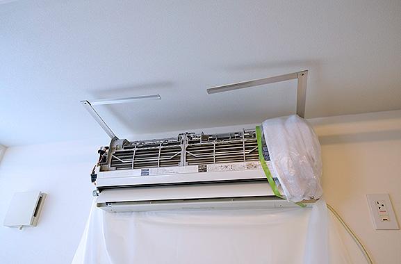 株式会社エアコンカバーサービス エアコン洗浄シート取り付け方(5)